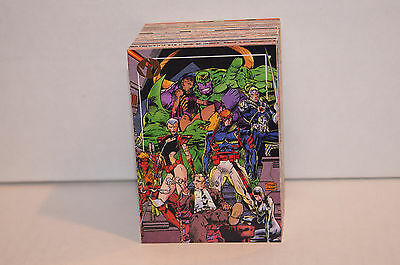 WILD C.A.T.S. (Topps/1993) Comic Art Trading Card Set JIM LEE ART (WILDCATS)