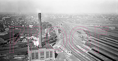 New York Central (NYC) Buffalo Train Yards (View 2) - 8x10 Photo