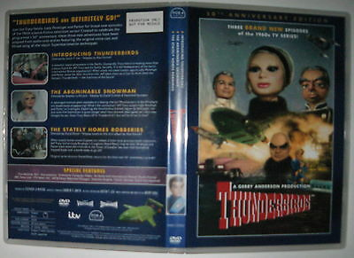 Thunderbirds Supermarionation 3 DVD episodes not sold in stores rare novelty