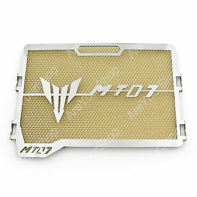 Radiator Grille Guard Cover Protector For Yamaha MT-07 FZ-07 2013-2016 Gold AU