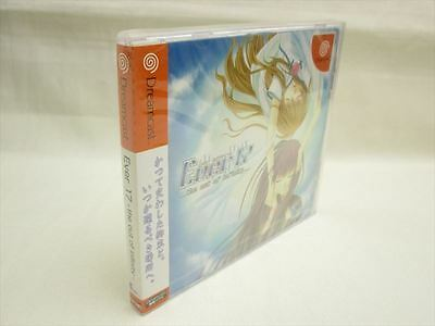 EVER 17 the Out of Infinity Sega Dreamcast Brand New Import Japan Game dc