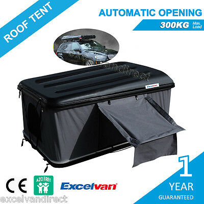 Automatic Hard Shell Pop Car Roof Top Camper Trailer Tent Camping Top Roof Rack