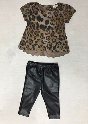 Velvet Top And Legging Set River Island Minis Girls 2-3 Yrs