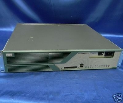 Cisco 3825 Router + 128MB Flash + VWIC2-2MFT-T1/E1 Module