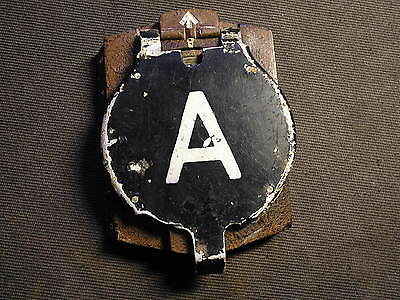 Original German WW2 Eastern Front bunker relic damaged COMPASS marked rare