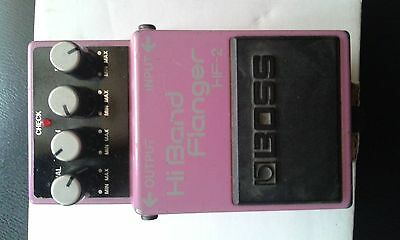 Boss HF-2 Hi Band Flanger , effetto a pedale ultra raro anni 80 , made in taiwan