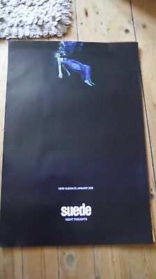 Suede - Night Thoughts Promotional poster -mint