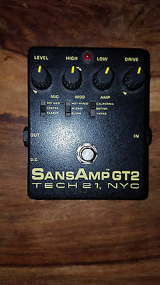 Pedale guitare TECH 21, NYC Sansamp GT2