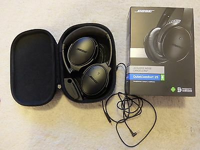 Bose Noise Cancelling QuietComfort QC25 for Samsung Special Ed. Triple Black
