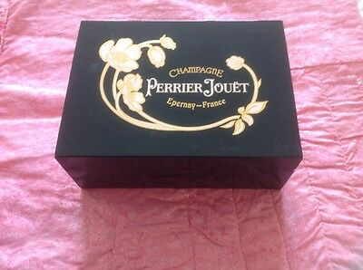 2 Luxury Perrier Jouet Belle Epoque Champagne Glasses Boxed