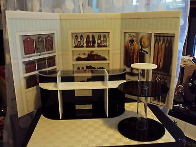 2015 Kenvention Exclusive Diorama 1:6 Scale Store Counter Shoe Store Display