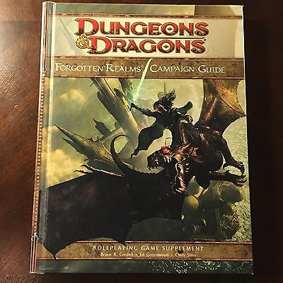 D&D: Forgotten Realms Campaign Guide, RPG Supplement