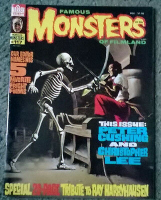 famous monsters of filmland #117,july 1975,high grade vf ,bagged & boarded