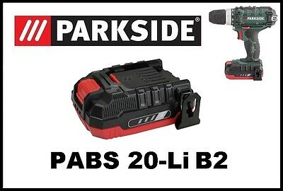 Bateria taladro Parkside 20v Li 20 Battery Drill Screwdriver PABS 20-Li B2