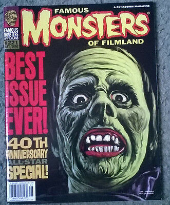 famous monsters of filmland #221,high grade vf+,bagged & boarded