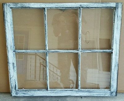 Vintage Sash Antique Wood Window Picture Frame Pinterest Wedding Distressed