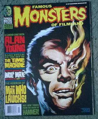 famous monsters of filmland #220,feb 1998,nm-/nm condition,bagged & boarded