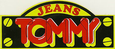 Vintage Sticker: Tommy Jeans.