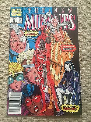 new mutants 98 Very Nice Copy. No Reserve. See My Other Books!