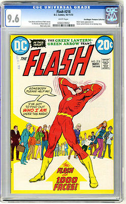 Flash #218 CGC 9.6! Neal Adams Art!!! White Pages!!! Highest on the Census!!!
