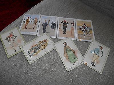 Assorted Players cigarette cards, Dickens, Egyptian Sketches, etc