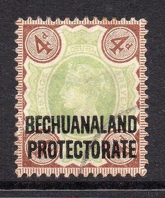 Bechuanaland 4d Stamp c1897-02 Used SG64