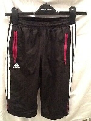 girls adidas 3/4 shorts age 7/8