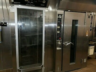 Doyon Gas Bakery Single Oven & Doyon Electric Proofer Retarder with Racks