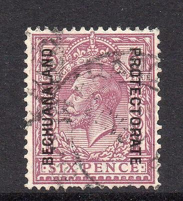 Bechuanaland 6 Pence Stamp c1925-27 Used SG97