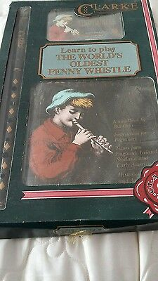 New and Sealed Clarke Learn to play The Worlds Oldest Penny Whistle