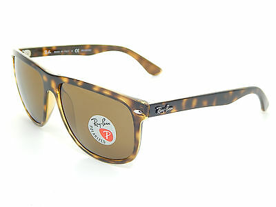 New Ray Ban RB4147 710/57 Tortoise/Brown Classic Polarized 60mm Sunglasses