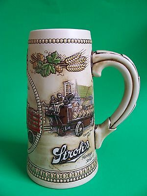 VINTAGE STROH'S - Beer Delivery Vehicles Of The Past - STEIN