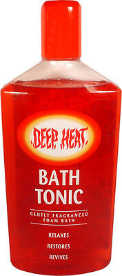 Deep Heat Bath Tonic 350ml
