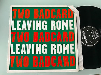 LP  2 Two Badcard ‎– Leaving Rome Label: On-U Sound ‎