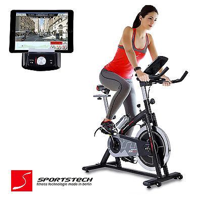 Premium Indoor Cycling mit Smartphone APP / Spin Speed Bike Fitness Cycle SX200
