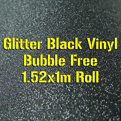 Frosted Black 1.52M x 1M AIR/BUBBLE FREE Self Adhesive Vinyl Car Wrap Roll