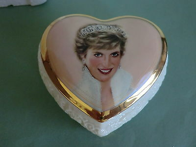 PRINCESS DIANA MUSIC BOX - QUEEN OF OUR HEARTS - With Certificate