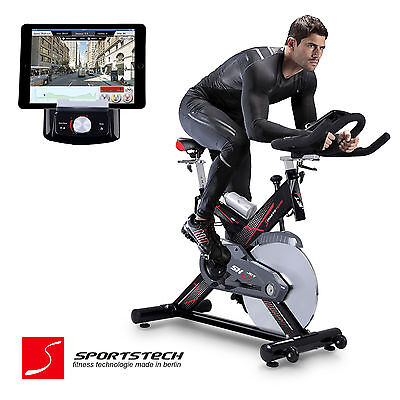 Premium Indoor Cycle Smartphone APP Trainieren / Spin Speed Bike Fitness SX400