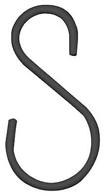 PANACEA PRODUCTS CORP Extender 'S' Hook, 3.5-In., Black, 2-Pk.