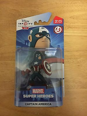 Disney Infinity 2.0 Captain America Figure *BRAND NEW AND SEALED*