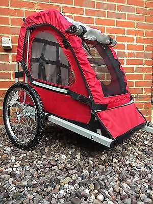 Child bike trailer - Double Buggy