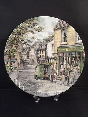 Excellent Condition Royal Doulton Collectors Plate The General Store with COA