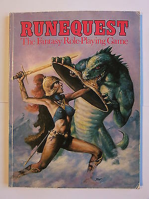 RUNEQUEST 2nd EDITION RULEBOOK (2e), PAPERBACK, GAMES WORKSHOP, CHAOSIUM