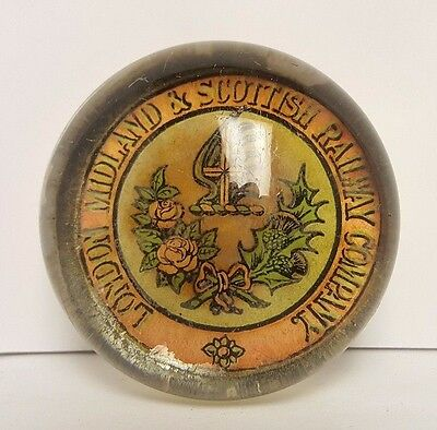 LMS Railway Co - Glass Paper Weight