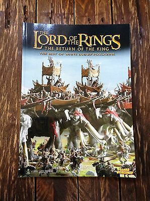 The Lord of the Rings strategy battle game Book Return Of The King Warhammer