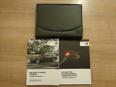 BMW 5 Series Estate Owners Handbook/Manual and Pack 15-17