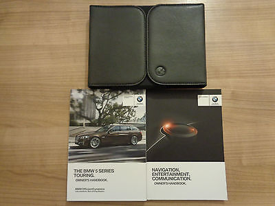 BMW 5 Series Estate Owners Handbook/Manual and Wallet 15-17