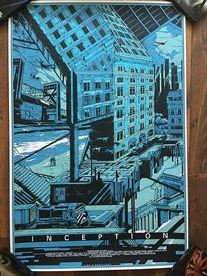 Inception - Limited Edition Variant Screen Print by Kilian Eng nt Mondo