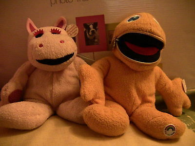 Zippy and George 1972 toys