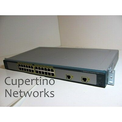 NUOVO Cisco Catalyst Express WS-CE520-24TT-K9 24-Ports External Switch Managed